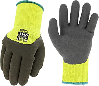 Mechanix Wear: SpeedKnit Thermal Work Gloves (Large/XLarge, Fluorescent Yellow) (781513652787)
