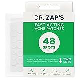 DR. ZAP'S Acne Spot Treatment - Acne Patches Work as Pimple Treatment - Hydrocolloid Patches Use Australian Tea Tree Oil