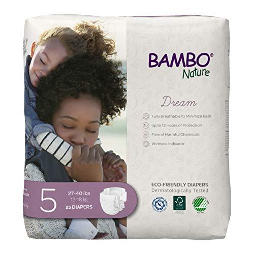 Bambo Nature Premium Eco-Friendly Baby Diapers,...