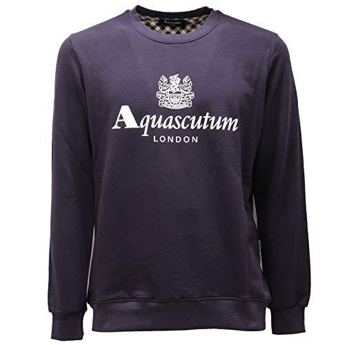 Aquascutum QMF002L0 03 Blu 03 Uomo