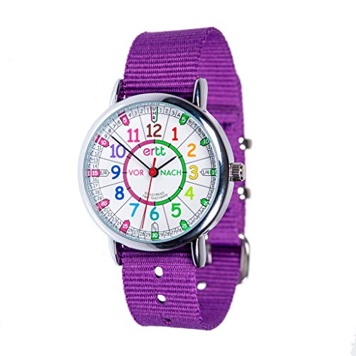 ertt Watch Rainbow Past To Purple Band ERW-COL-PT-DE