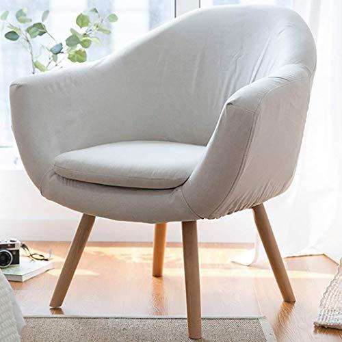 ZHJIUXING CC Lazy Couch Single Lazy Couch Lazy Couch Balkon Stuhl Lounge Chair kleine Wohnung Moderne minimalistische kleine Schlafzimmer Couch, Beige