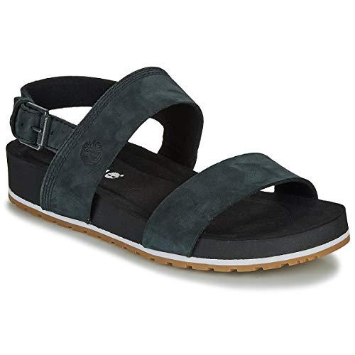 TIMBERLAND MALIBU WAVES 2BAND SANDAL Sandalen/Open schoenen dames Zwart Sandalen/Open schoenen