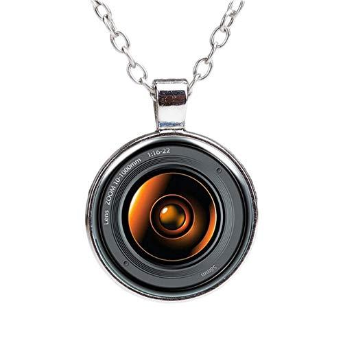 KHOBGLU Neueste Kamera Anhänger Halskette Kreative Vintage Fashion Silber Überzogene Halskette Für Frauen I