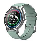 GJKK Smartwatch Fitness Armband Tracker Touch Screen Wasserdicht Schrittzähler Uhr Damen Herren Kinder Aktivitätstracker mit Pulsuhren, GPS Armbanduhr Sportuhr Smart Watch