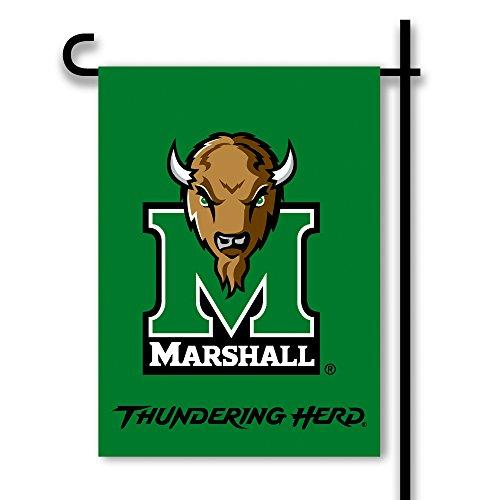 BSI NCAA Gartenfahne, beidseitig, Unisex, grün, Einheitsgröße