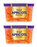 Manna Dried Apricots, 400g (200g x 2 Packs) - Premium Turkish Apricots/ Jumbo/ Seedless. 100%...