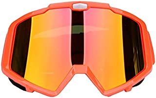 Sunglasses Fashion Accessories Motorcycle Goggles Glasses Dust Goggles Off-Road Equipment Windproof Ski Glasses (Color : Red)