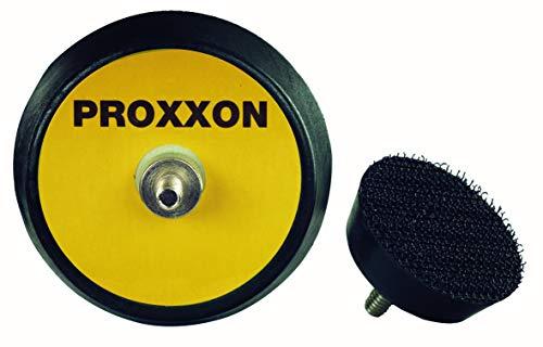 Proxxon Schaumstützteller (1 Stück, ø 30 mm, für Poliermaschinen, WP E und EP/A, Hartschaum-Klettaufnahme) 29074