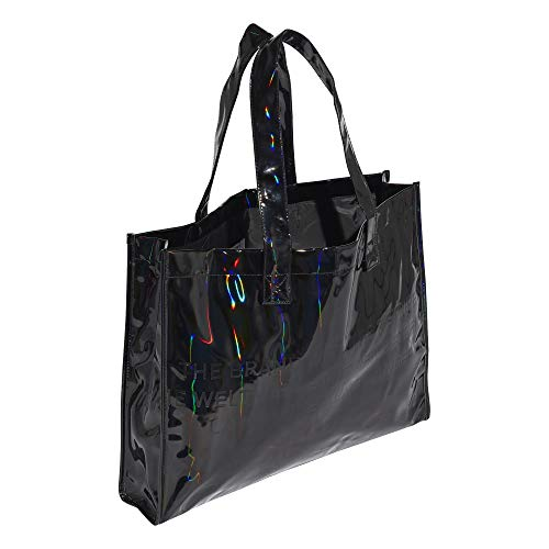 adidas M Shopper Bag - Bolsa para la compra (talla única), color negro