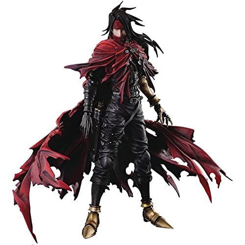 Dirge of Cerberus Final Fantasy 7: Vincent Play Arts Kai Statue Action Figure Multiple Colors
