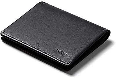 Bellroy Slim Sleeve, slim leather wallet (Max. 12 cards and bills)
