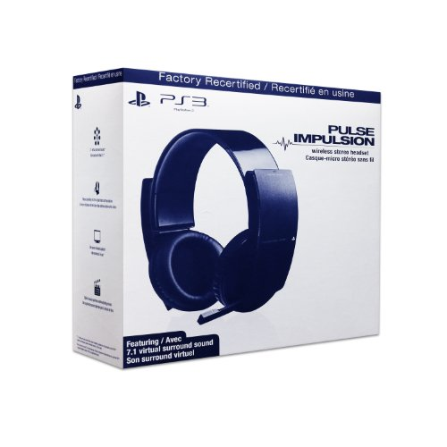 PS3 Wireless Stereo Headset - Factory Recertified
