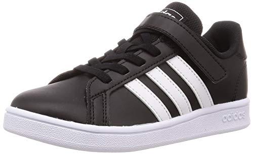adidas Grand Court, Scarpe da Tennis Unisex-Baby, Core Black/Ftwr White/Ftwr White, 28 EU