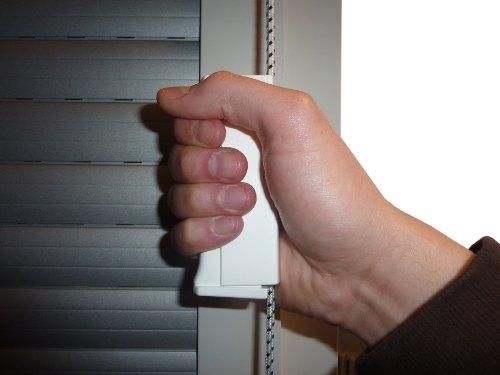 Rollladen Schnurzughilfe / Gurtzughilfe für Rolladen und Jalousie mit 4,5mm Schnurzug oder 14mm Mini Gurtband