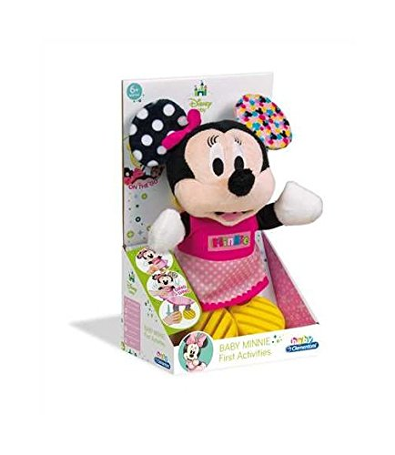 Clementoni 17164.4 Mickey Mouse and Friends Plüsch Minnie mit Beißring