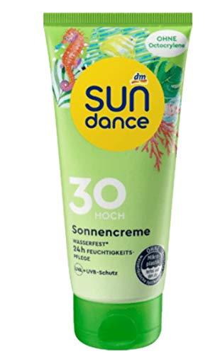 SUNDANCE Sonnencreme LSF 30, 100ml / Ohne Mikroplastik und wasserlösliche synthetische Polymere