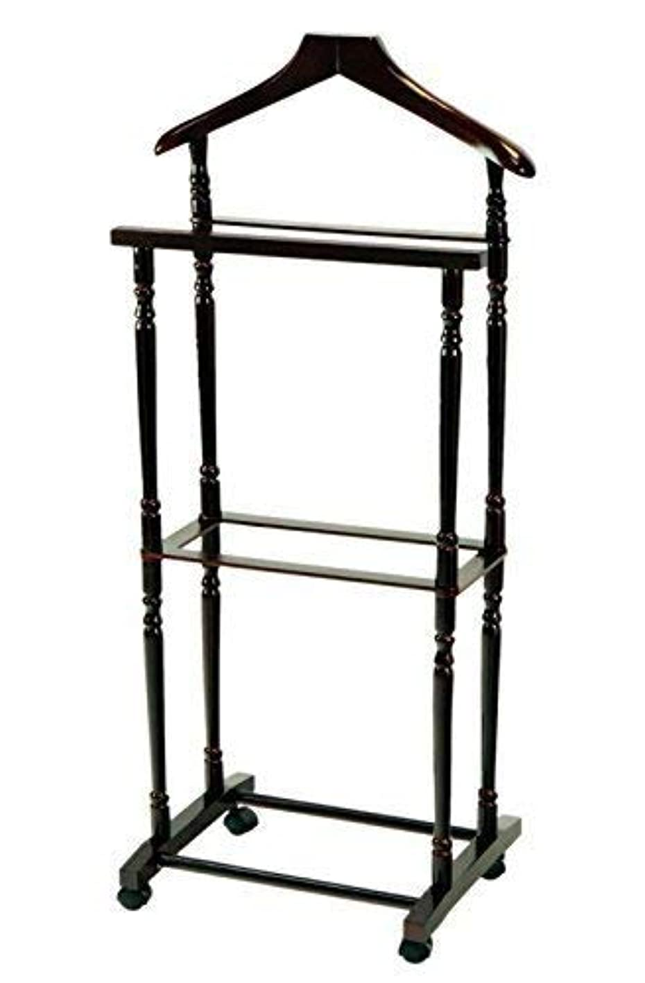 Frenchi Home Furnishing Men Suit Valet Stand with Suit Hanger