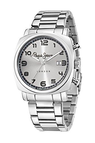 Pepe Jeans Herren Uhrenbeweger Collection Howard Edelstahl Silber R2353111003
