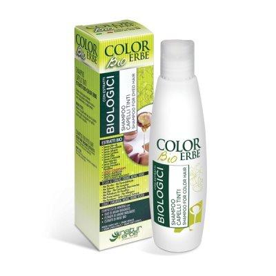 Natur herbes – Shampooing pour Cheveux Teints avec extraits bio ce 200 ml pour cheveux traités, nourrissant et hydratant