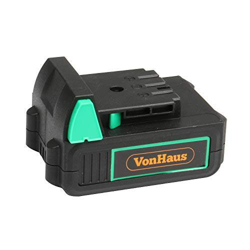 VonHaus F-Series Spare Battery - 12V MAX 2.0Ah Lithium Ion Battery – Interchangeable Li-ion Battery for Power Tools – Charger Not Included – Only Compatible with VonHaus F-Series Range