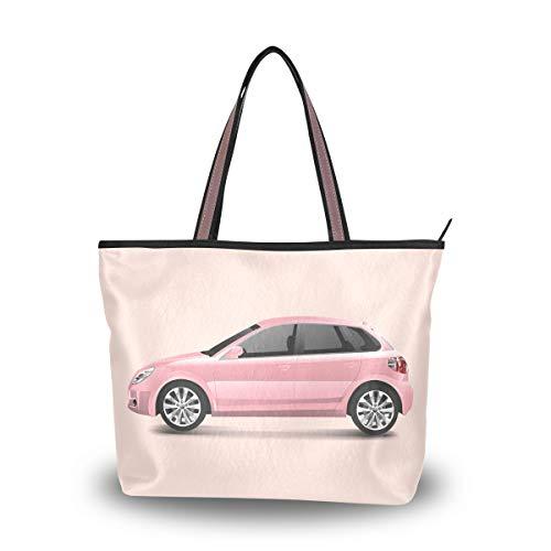 Handtasche für Damen, modische Geldbörse, lässige Taschen, große Kapazität, Tragegriff, für Outdoor, Einkaufen, Arbeit, Schule, Reisen, Büro, Auto, Mehrfarbig - mehrfarbig - Größe: Medium
