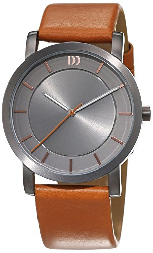 Danish Design Damen-Armbanduhr Analog Quarz Leder 3324573