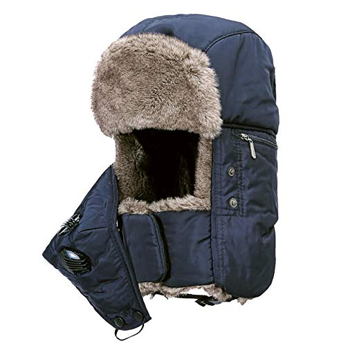 DJBNMAI Winter bomber hoed neutraal waterdicht outdoor gehoorbescherming dikke warme Ski Hunter hoed