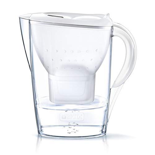 Brita Marella - Filtro de agua (incluye 3 cartuchos de filtro Maxtra+), color blanco