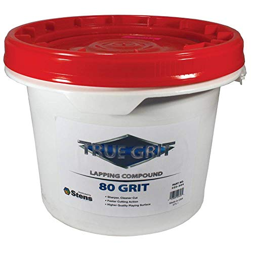 True Grit Lapping Compound, 80 Grit, ea, 1