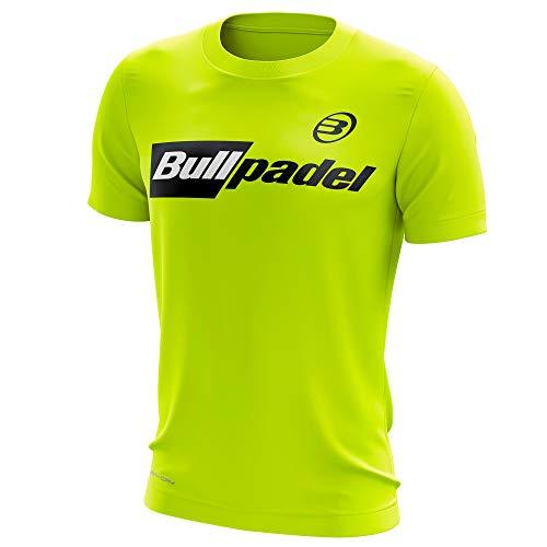 Bullpadel Camiseta ODP (L, Amarillo Fluor)