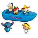 Juego de botes de baño Disney Small World