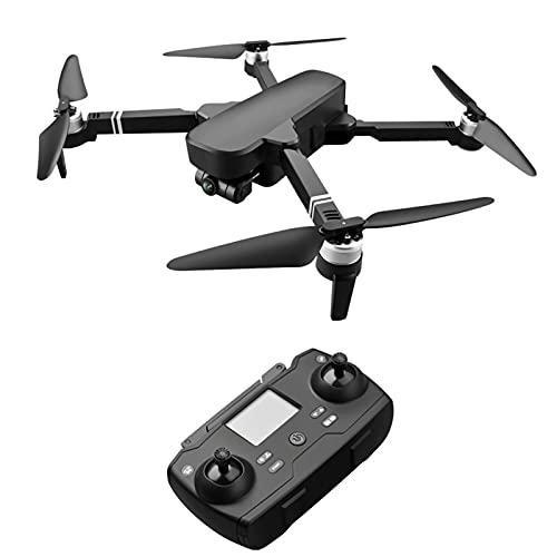 JANEFLY Dron GPS con cámara 4K, cardán de 2 Ejes, cuadricóptero con Motor sin escobillas, batería de 28 Minutos de duración, posicionamiento GPS Dual