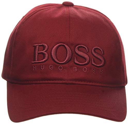 BOSS Herren Fero Baseball Cap, Rot (Medium Red 615), One Size (Herstellergröße: ONESI)