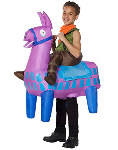Spirit Halloween Boys Giddy Up Fortnite Inflatable Costume | Officially Licensed
