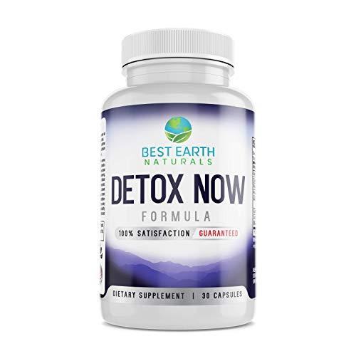 natural cleanses Detox Now- Herbal Detox Cleanse Pills for Gentle & Natural Detox Cleanse for Weight Loss Support for Men and Women