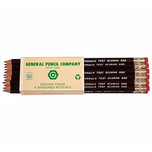 General Test Scoring Pencil/Box 12