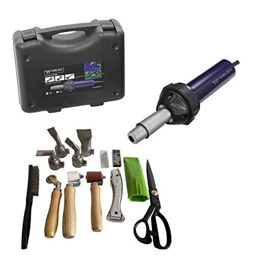 120V1600W Plastic Welding Hot air gun Various Accessories Floor Tool Set (120V Welding Gun Tool Set)