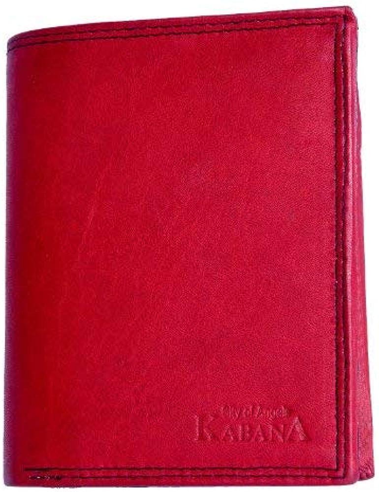 Kabana , portafoglio in vera pelle 92a-CA
