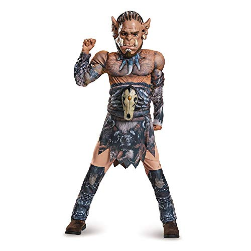 Durotan Classic Muscle Warcraft Legendary Costume, Large/10-12