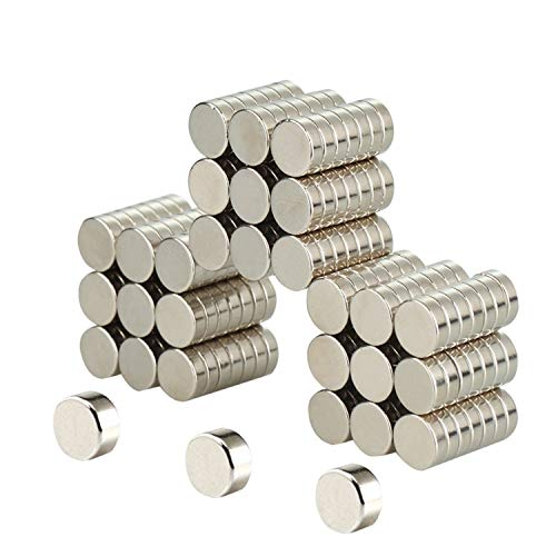 80PACK Round Ceramic Industrial Ferrite Magnets for hobbies,Crafts,Science and Refrigerator magnet for hobbies,crafts and science