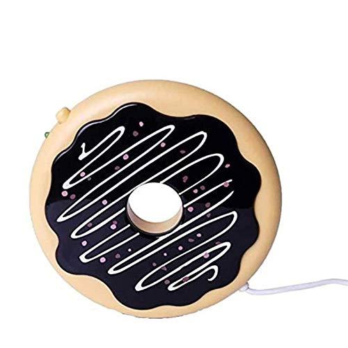 MUBAY Hogar portátil Calentadores de Bebidas Café del cojín de calefacción USB Warmer Beverage Coaster Calefacción Placa USB Warmer for Office/Home café Caliente/Bebidas/té Caliente de Regalo Ideal
