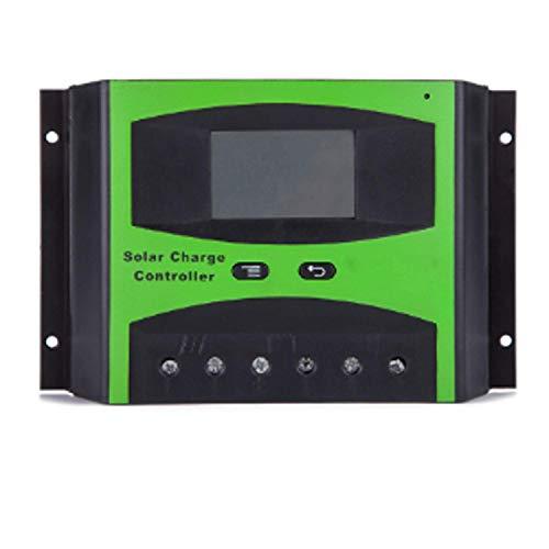 YUXIwang Controlador de Carga Solar de Durable 12V / 24V 48V Auto Multifunción LCD Carga Solar Controlador Solar LD4840S Preciso