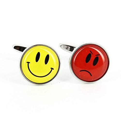 Cravate Avenue Signature - Boutons De Manchette, Happy Unhappy