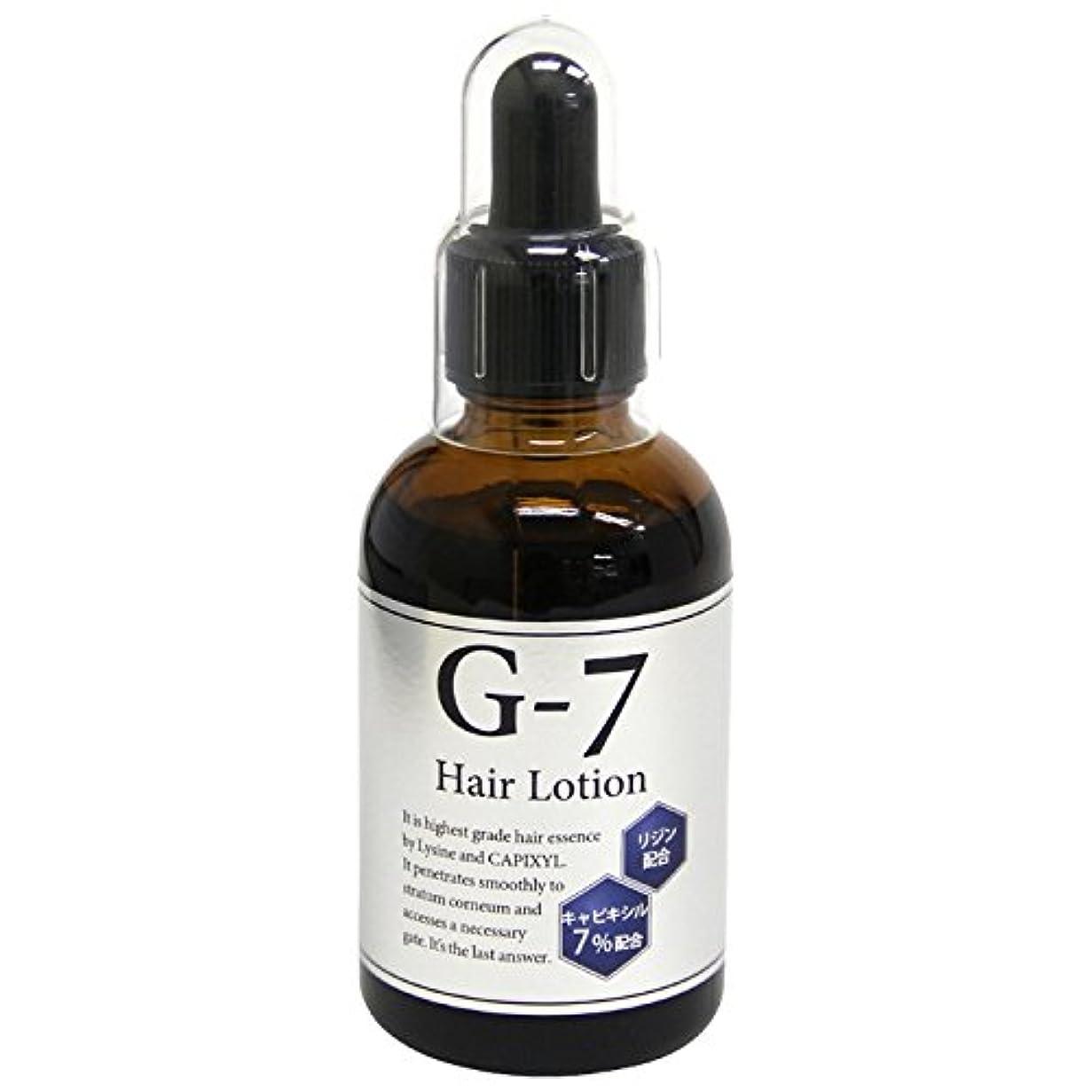 違法王女講義サイオ G-7 ヘアーローション キャピキシル7%+リジン(G7) 60ml 1本
