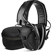 awesafe Electronic Shooting Hearing Protection Earmuffs Comes with Carrying Case
