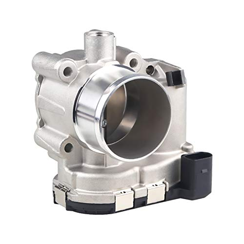 WMPHE Compatible with Electronic Throttle Body Assembly Ford Fiesta 2011-2015 Replace OE# 0280750535 TB1166 S20169 31330780 1472934 1486105 1751015 7S7Z9E926A 977-352
