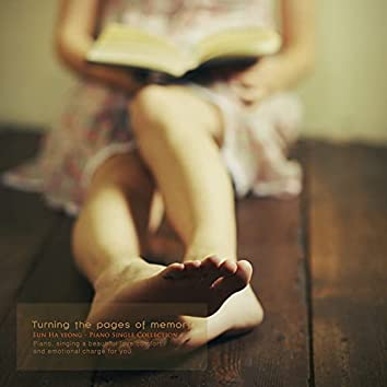 Hand over the bookshelf of memory