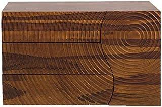 Casa Padrino Cajonera de diseño Nature Mueble TV de 120 x 47 x H.75cm - Aparador- Hecho a Mano de Madera Maciza de Mango!