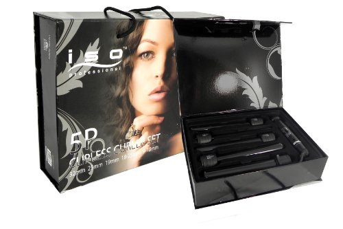 ISO Beauty 5 in 1 Curling Iron (5P) - Black